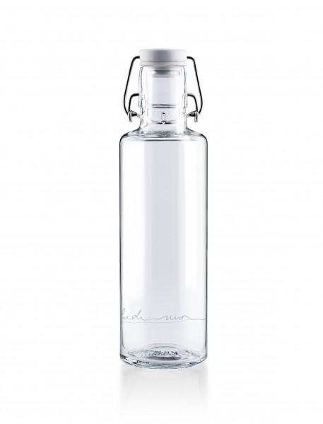 soulbottles einfach nur Wasser 600 ml Glas trinkflasche