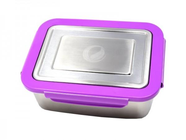 ECOtanka™ lunchBOX – Grundversion mit Verschlussrahmen & Dichtungsring Violett