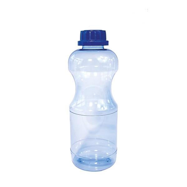 RIVA TRITAN Trinkflasche 1l rund mit Standarddeckel