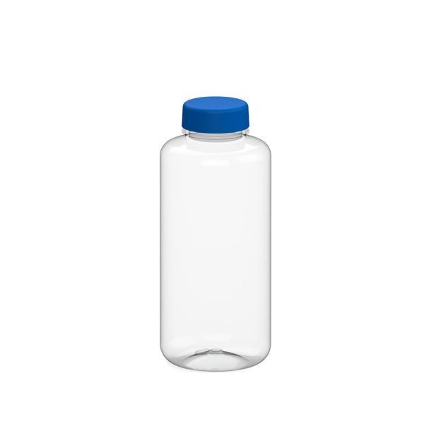 TRITAN Trinkflaschen 1 Liter Refresh mit blauen Deckel