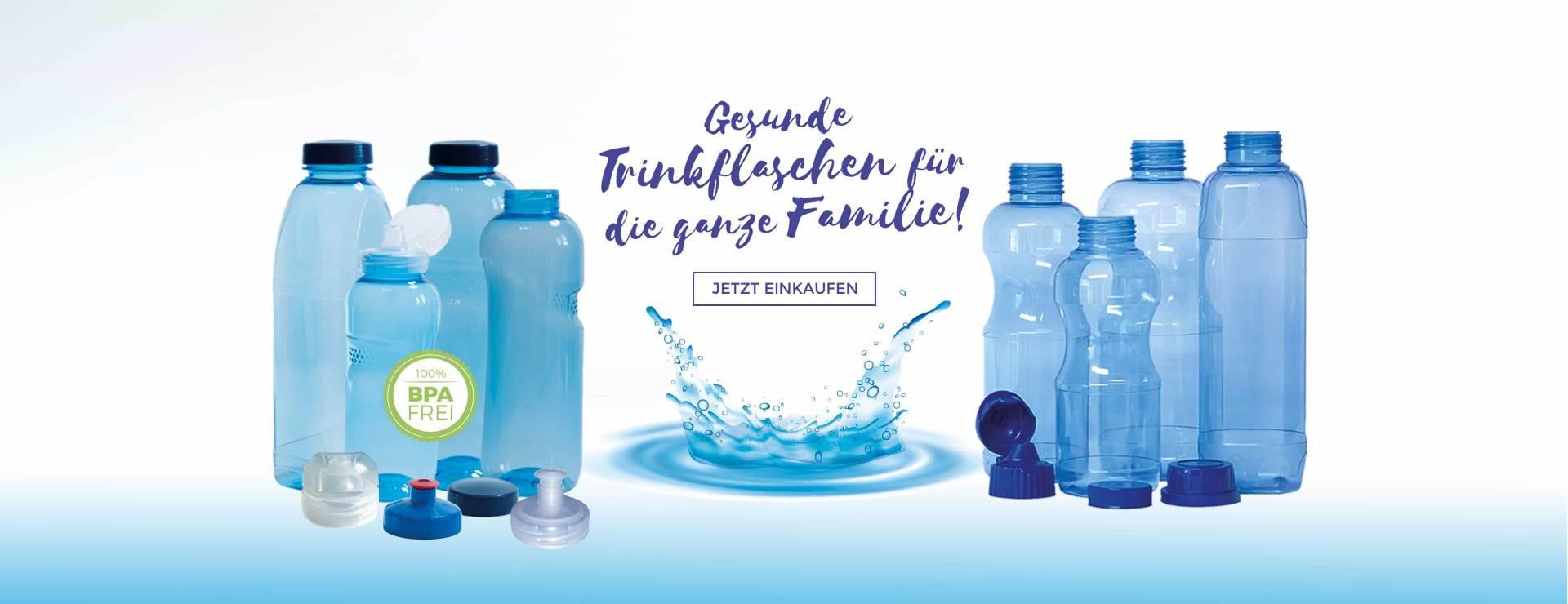 Gesunde Tritan Trinkflaschen