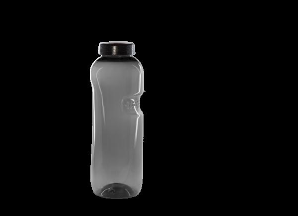 Kavodrink TRITAN Trinkflasche 0,75 Liter (rund) in schwarz
