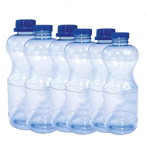 Riva 6er Bundle mit verschieden Flaschen und Deckeln