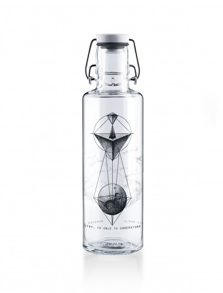 soulbottles whoever understand geometry 600 ml front